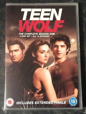 Teen Wolf Complete Season 1  (3-Disc Dvd Set) Brand New & Sealed Free Post