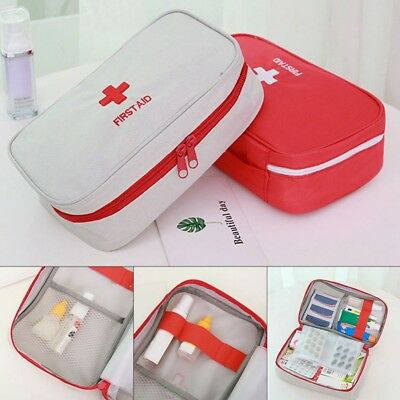 NEW First Aid Kit Bag Emergency Medical Survival Treatment Rescue Empty Box Yulu