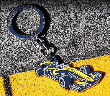 Genuine Renault F1 RS Formula 1 Key Ring 2019