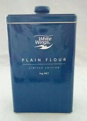 White Wings Plain Flour Collectable Tin Limited Edition 1kg