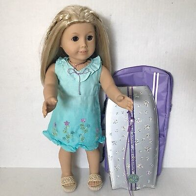 Pleasant Company American Girl of Year 2003 Doll Kailey with Boogie Board