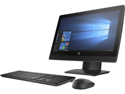 """HP ProOne 400 G2 Core i3 6th Gen NON-TOUCH 20"""" PC All in One 4GB RAM 240GB SSD"""