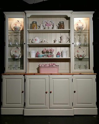 Large Ducal Pine Farmhouse Kitchen Welsh Dresser Shabby Chic  F&B free delivery!