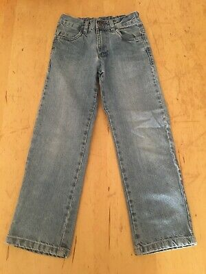 Boys denim jeans size 7-8 years blue GEORGE  Regular Fit