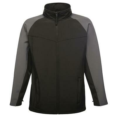 Men's Regatta Uproar Interactive Quick Dry Water Repellent Coat Softshell Jacket