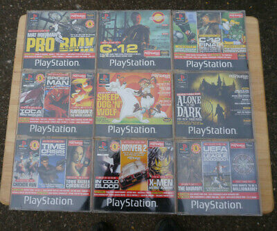 Bundle of 16 Official PlayStation Magazine demo CD's
