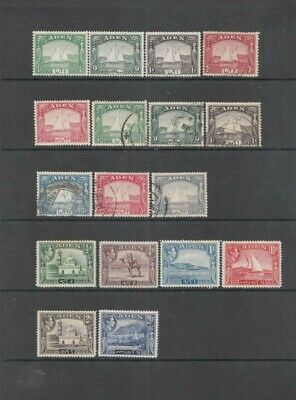 ADEN George VI KGVI stamps, fine used stamps