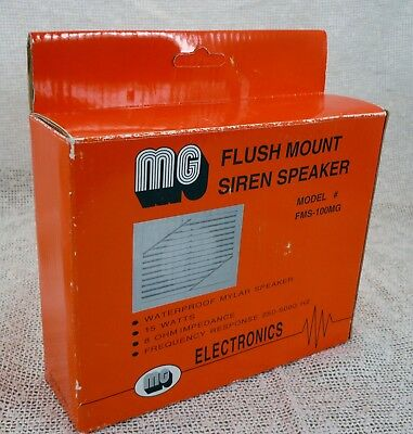Flush Mount Siren Speaker Model FMS-100MG