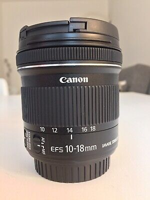 CANON EF-S 10-18mm 10-18 f/4.5-5.6 IS STM COME NUOVO