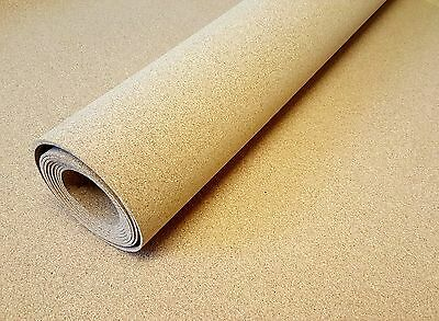 Cork Underlay Cork Sheet Roll 1000Mm Wide X Various Lengths And Thickness