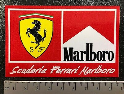 Official F1 Formula One 1 WINDOW Sticker Ferrari Alonso Schumacher Räikkönen