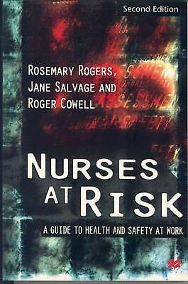 Nurses at Risk by Rosemary Rogers (English) Paperback Book Free Shipping!