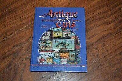 B12- Antique Tins Identification & Values Collectors Guide Book By Fred Dodge