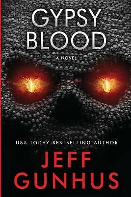 Gypsy Blood by Gunhus Jeff Paperback Book Free Shipping!