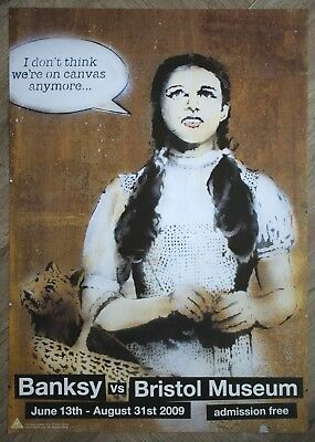 Banksy vs Bristol Museum - I don't think we are on canvas anymore Poster A2
