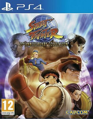 Street Fighter 30th Anniversary Collection PS4 VIDEOGIOCO EU PLAY STATION 4 ITA