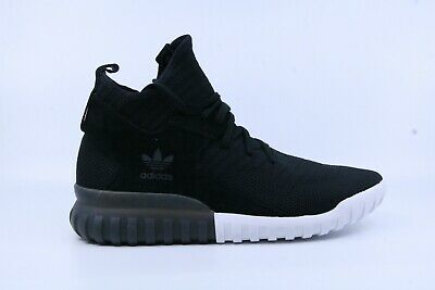 cheap for discount 6d397 a950d Adidas S80128 Men s Black White Tubular X PK Hi-Top Sneakers Size 11