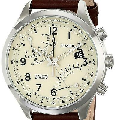 Quartz Steel Chronograph Timex Men's Intelligent Stainless H9YIWD2eE