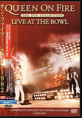 queen live at the bowl -DVD- JAPAN edit. VERY HARD TO FIND