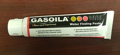 2.5oz Tube Gasoila WT25 Water Finding Paste for Gas, Diesel and other Hydrocarbo