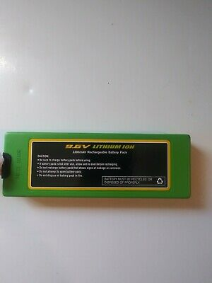 RC CHARGERS Official 9.6 Volt 2200 mAH Lithium Ion Rechargeable Battery Pack |