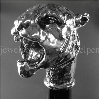 Knaufstock - Little Tiger - R 925 Sterling Silber - Spazierstock - Walking Stick