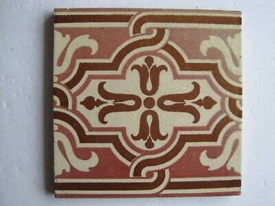 Antique Victorian Maw & Co Aesthetic Border Tile C.1875 - 95