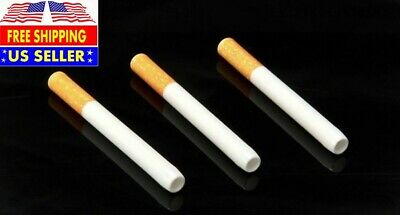 "US Seller---3 x 3"" Ceramic Cigarette Pipe One Hitter Tobacco Smoking Dugout Pipe"
