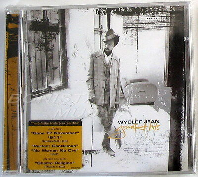 WYCLEF JEAN - GREATEST HITS - CD Sigillato Bonus Track
