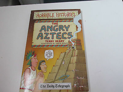 HORRIBLE HISTORIES ANGRY AZTECS Daily Telegraph Edition