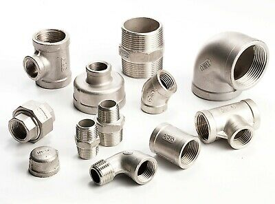 "Stainless Steel Pipe Fittings 316 Grade 150lb  1/8"" To 2"" - VAT Invoice Inc."
