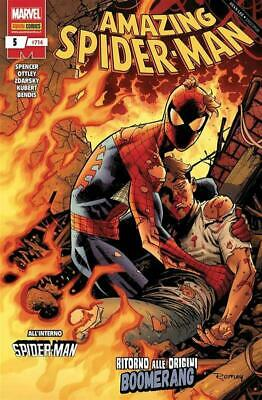 Spencer Ottley Zdarsky SPIDER-MAN 714 AMAZING SPIDER-MAN n.5 Panini Comics