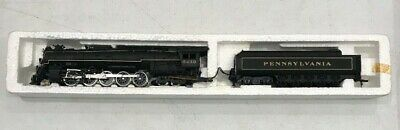 Ho Bachmann Pennsylvania Rr #6439 2-10-4 Steam Locomotive & Tender