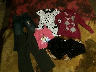 girls clothes bundle 4 years tops jeans dress trousers bolero