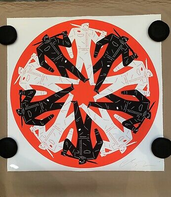 Cleon Peterson - Let's Start A War (Red) - Signed.