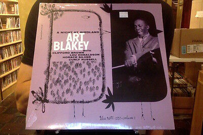 Art Blakey A Night at Birdland LP sealed vinyl RE reissue