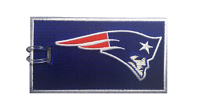 New England Patriots Embroidered Luggage Tag (NEVER BREAKS!)