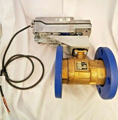 Johnson Controls VG1000 Series Flanged Ball Valve with Field Mounted Actuator