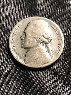1942 S Jefferson Nickel - 15% off 5+