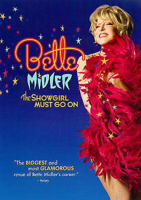 Bette Midler: The Showgirl Must Go On (DVD, 2011)