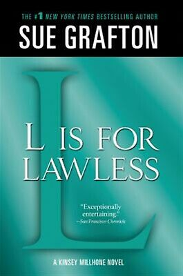 """""""l"""" Is for Lawless: A Kinsey Millhone Novel by Grafton, Sue -Pape 9781250041883"""