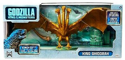 "Godzilla King of the Monsters ""KING GHIDORAH"" 6-inch Toy Fig (2019, Jakks) New!!"