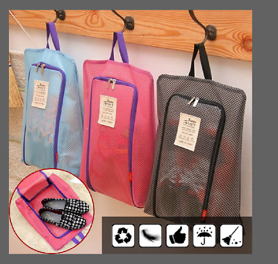 Waterproof Portable Shoe Bags Organizer Luggage Travel Sport Storage Zipper Tote