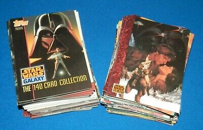 1993 Topps Star Wars Galaxy Complete 140 Cards Base Set