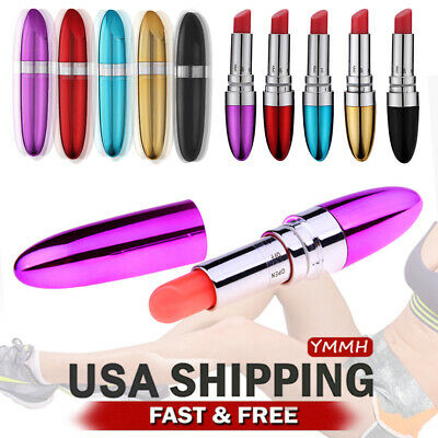 Massager Vibration Lipstick Shape Powerful Female Privacy packaging  US SHIP