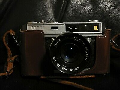 LUXOR II vintage Rare Camera and Leather Case