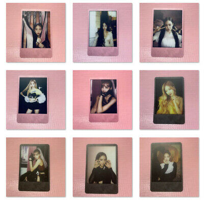 BLACKPINK Official POLAROID PHOTOCARD Only 2nd Mini Album KILL THIS LOVE Card