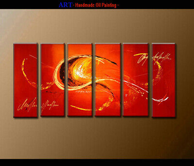 Framed Art Wall Modern Contemporary Abstract Oil Painting Handpainted on Canvas