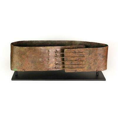A bronze Samnite Gladiator belt, Roman Republican period, ca. 4th Century BCE