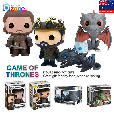 Funko Pop Game Of Thrones PVC Character Collectable Action Figure Model Toy Gift